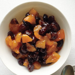 Dried-Cranberry-and-Apricot Compote