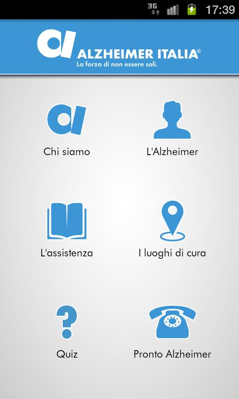 Alzheimer App - screenshot