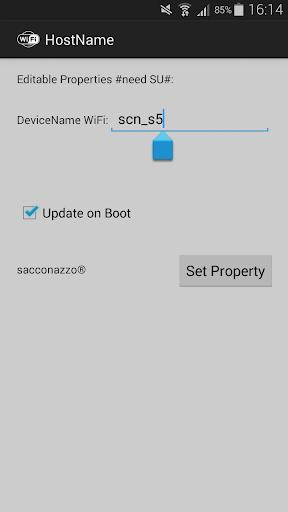 Change HostName WiFi Pro