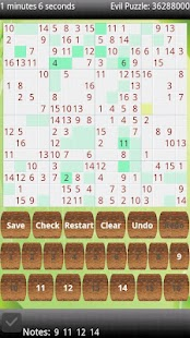 Sudoku Supreme 9x9 16x16 Free - screenshot thumbnail