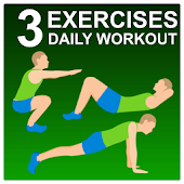 3 Exercises - Daily Workout