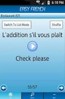 Screenshot of Easy French - Learn French !