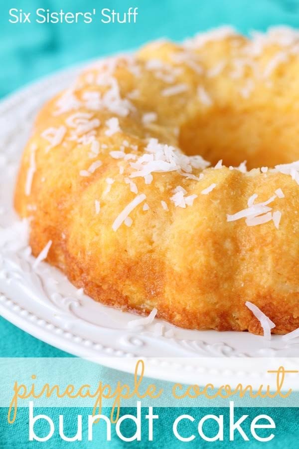 Cake Mix Cream Of Coconut Pineapple Whip Topping