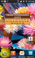 Screenshot of Swami Vivekananda Quotes Hindi