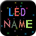 LED Name Wallpaper