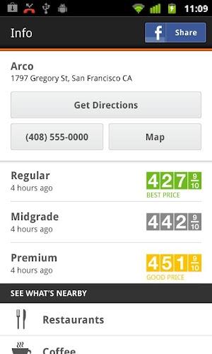 5 Gas Guru: Cheap gas prices App screenshot
