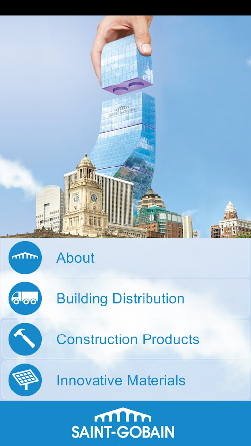 Saint-Gobain UK&Ireland Sites- screenshot