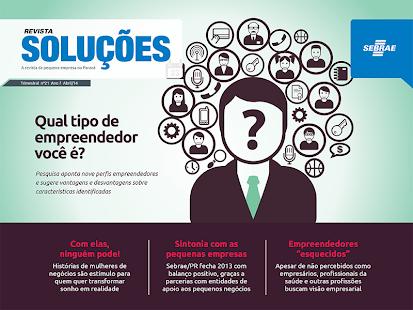 Revista Soluções SEBRAE/PR - screenshot thumbnail