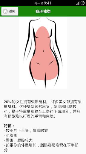 我形我塑之梨形身材|玩健康App免費|玩APPs