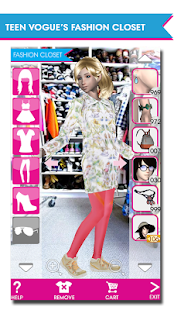 Teen Vogue Me Girl- screenshot thumbnail