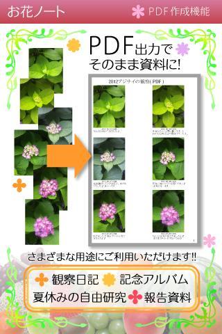 FlowerNote- screenshot