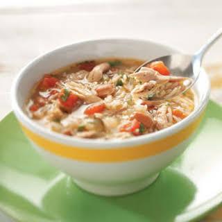 Cajun Chicken & Rice Soup Recipe.