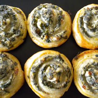 Little Spinach Pinwheels.