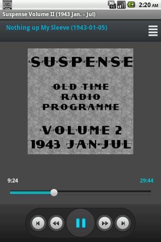 Suspense OTR Vol 2 1943