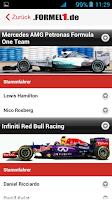 Screenshot of Formel1.de