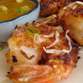 Twice-Cooked Coconut Shrimp.