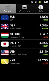 RON Exchange Rates - screenshot thumbnail