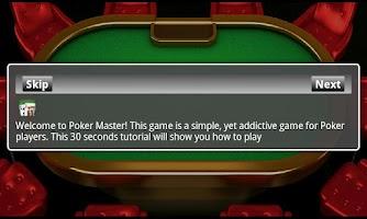 Screenshot of Poker Master Pack