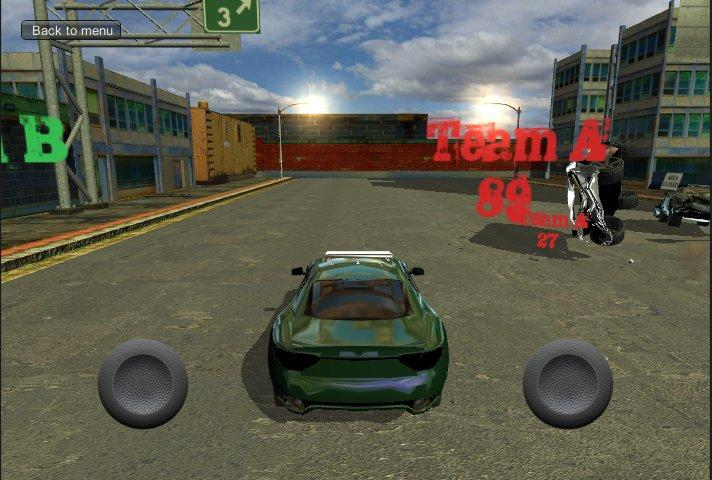 Car fighting - screenshot