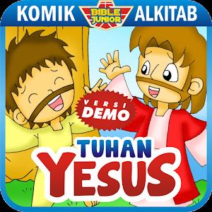 漫畫App|Komik Alkitab: TUHAN YESUS (D) LOGO-3C達人阿輝的APP