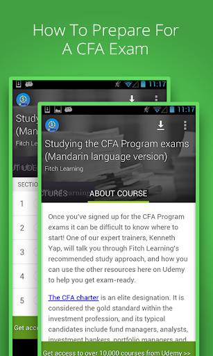 CFA Program exams course