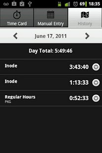 Employee Time Tracker with GPS- screenshot thumbnail