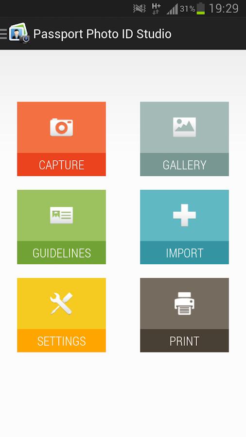 Passport Photo ID Studio - screenshot