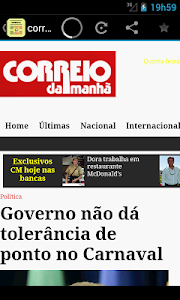 Jornais e revistas - Portugal screenshot 1
