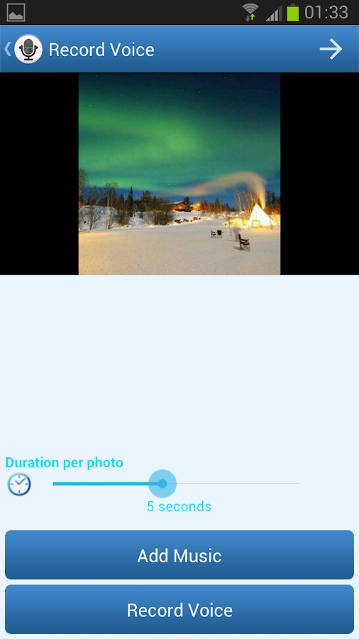 PhotoVoice - Voice on Pictures- screenshot