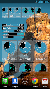 PolyClock™ World Clock - screenshot thumbnail