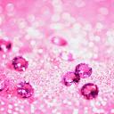 Pink Diamonds Live Wallpaper mobile app icon