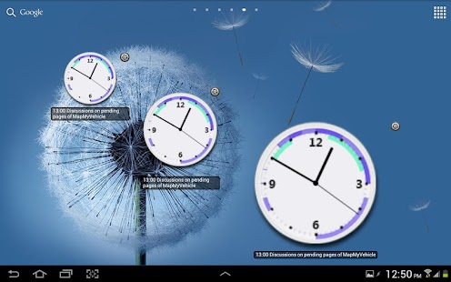 Business Clock Widget - Free - screenshot thumbnail