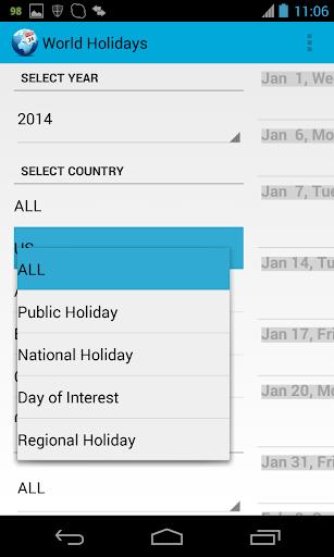 旅遊必備APP下載|World Holidays Pro 好玩app不花錢|綠色工廠好玩App