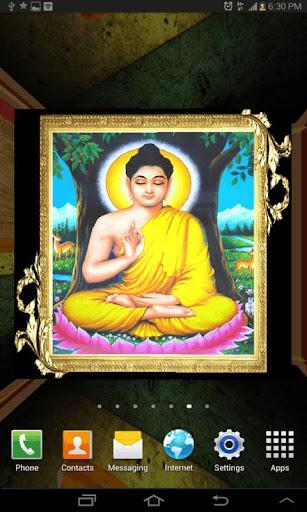 3D Gautama Buddha LWP