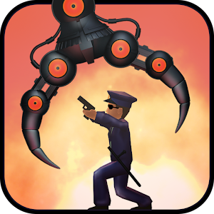Take control of a UFO with a retractable claw and destroy the puny humans! APK Icon