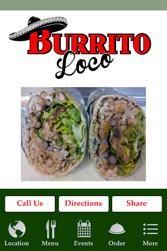 Burrito Loco On The Lake