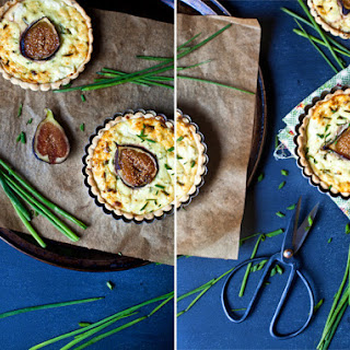 Fig and Goat Cheese Tarts.