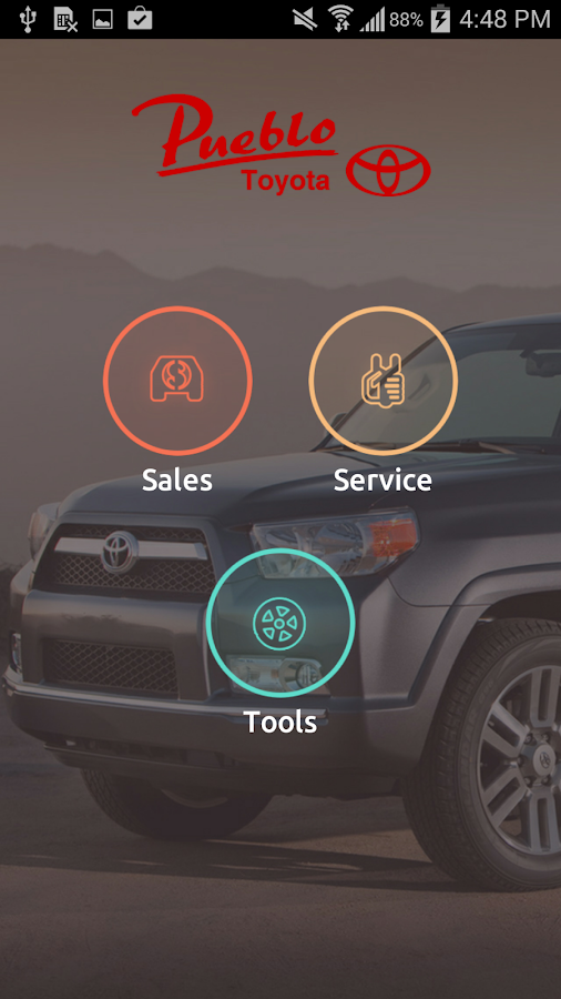 Pueblo Toyota - screenshot