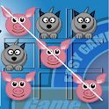 Pepe Pig Tic Tac Toe icon