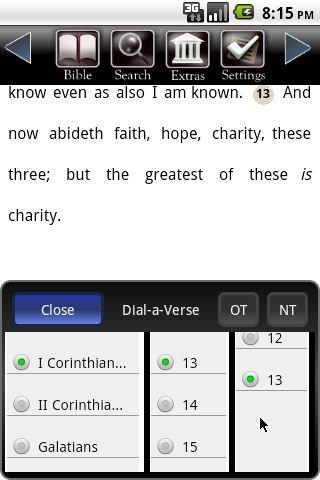 Touch Bible (KJV Only Bible) - screenshot