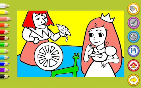Girls Coloring - screenshot thumbnail