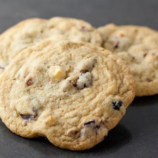 Cranberry White Chocolate Pecan Cookies.