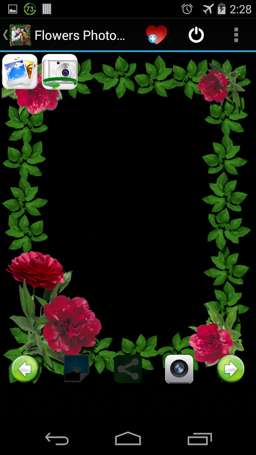 Flowers Photo Frames Android Apps On Google Play