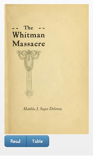 WHITMAN MASSACRE