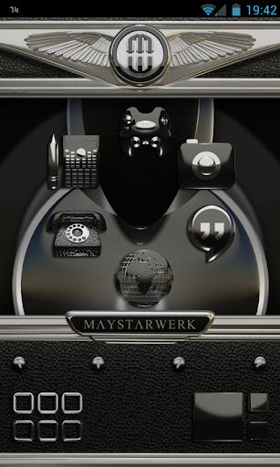 Smart Launcher theme Black Ele
