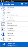 Screenshot of Resco Mobile CRM for Dynamics