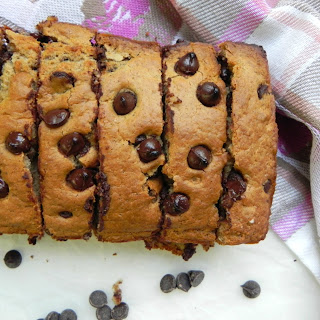 Healthy Chocolate Chip Quick Bread