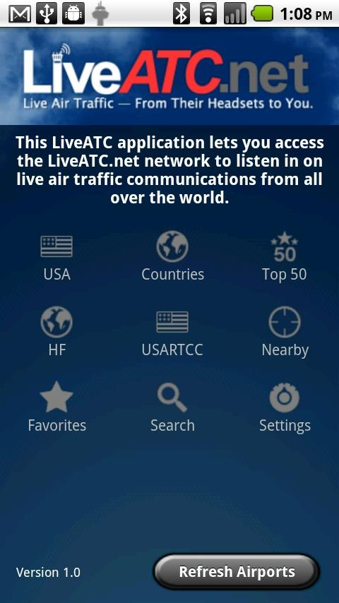 LiveATC for Android - screenshot
