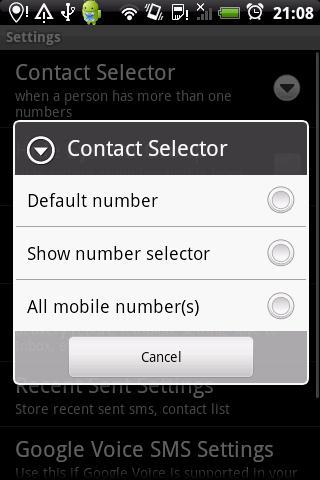 Group SMS & Scheduler- screenshot
