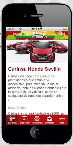 Honda Carinsa Sevilla